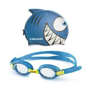 HEAD set (kapica za plivanje + naočare za plivanje) METEOR